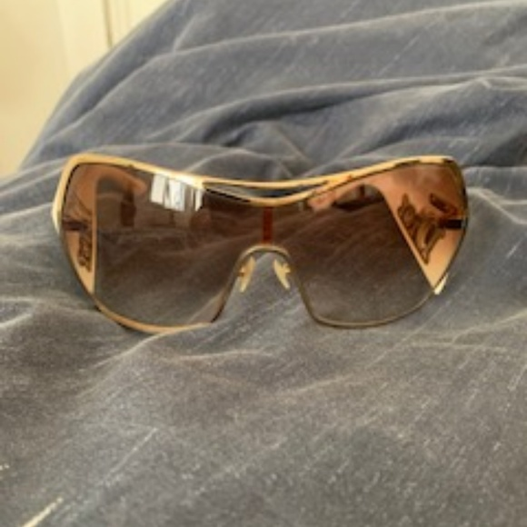 35e4f7a6fa Dior Accessories - Christian Dior Gaucho 1 Sunglasses Off White Gold